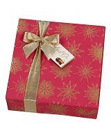 Christmas Gift Wrapped Ballotin of Assorted Belgian Chocolates