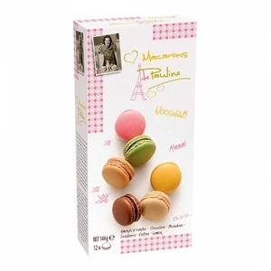 Macarons De Pauline: Strawberry, Pistachio and Chocolate