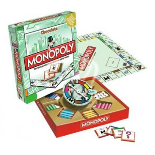 Small Chocolate Monopoly Board Game