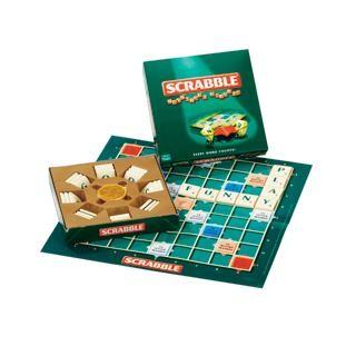 Small Scrabble Board Game in Chocolate