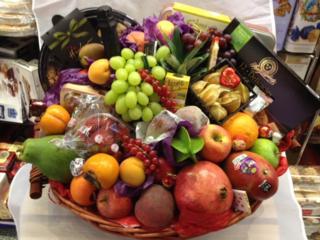 Luxury  Fruit and Fine Food Hamper