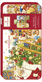 Niederegger Elves' Workshop Chocolate Marzipan Bars in Keepsake Tin