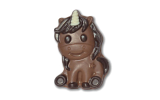 Chocolate Ozzy The Unicorn Loose