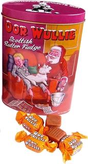 Gardiner's Oor Wullie Scottish Fudge Tin