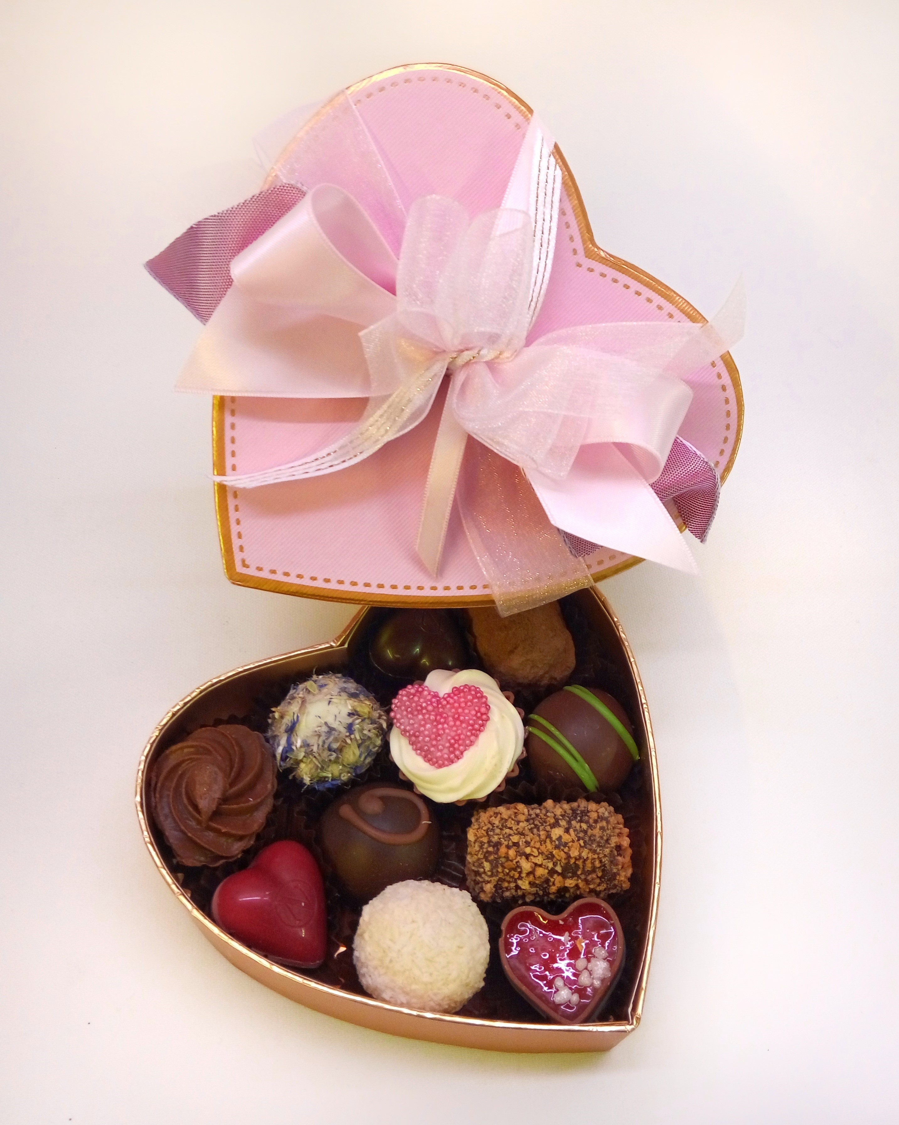 Belgian Chocolate Mini Heart Gift Box