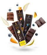 Perlege Dark Chocolate Orange Bar