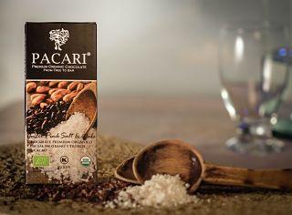 Pacari Organic Chocolate With Cuzco Pink Salt & Nibs