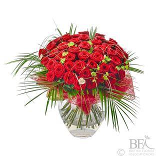 Stunning 48 Luxury Rose Arrangement