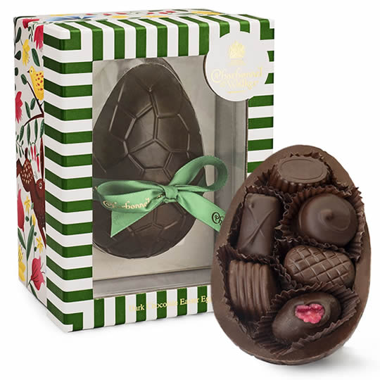 Charbonnel et Walker Assorted Dark Chocolate Easter Egg
