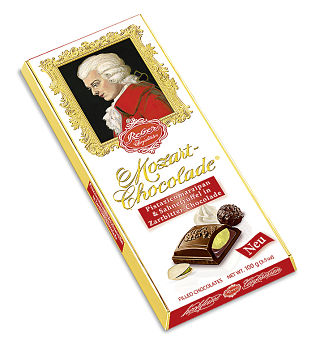 Reber Mozart Bitter Sweet Chocolate Bar