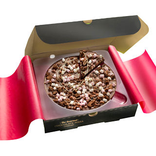"Rocky Road Chocolate 7"" Pizza"