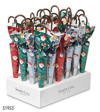 Christmas Chocolate Umbrella