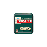 Scrabble Tin with Chocolate Game