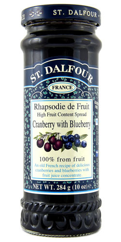 St Dalfour Cranberry & Blueberry Spread