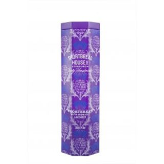 Aromatic Lavender Octagonal Truly Handmade Shortbread Tin
