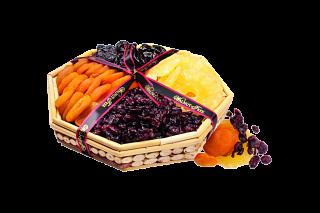 Walnut Tree Assorted Dried Fruit Basket