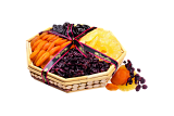 Walnut Tree Assorted Dried Fruit Basket