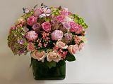 Glorious Pink Vase Arrangement