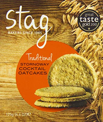 Stag Bakeries Traditional Stornoway Cocktail Oatcakes