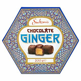 Sultans Plain Chocolate Ginger Gift Box