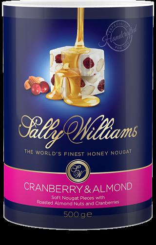 Sally Williams Cranberry & Almond Nougat