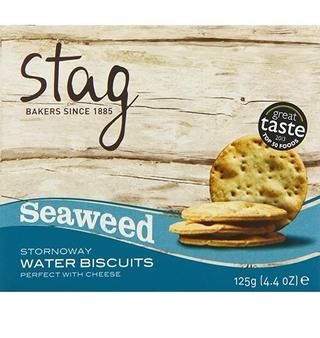 Stag's Seaweed Stornoway Cocktail Water Biscuits