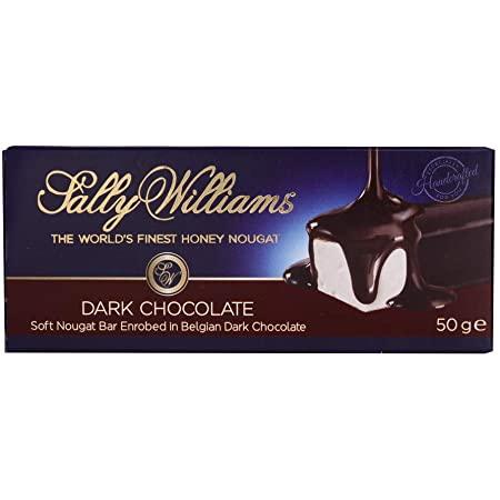 Sally Williams Dark Chocolate Nougat Bar