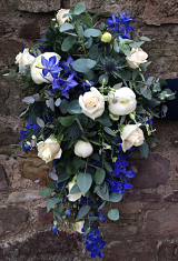 Teardrop Bridal Bouquet