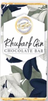 Treat Co Rhubarb Gin Chocolate Bar