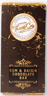 Treat Co Rum & Raisin Milk Chocolate Bar