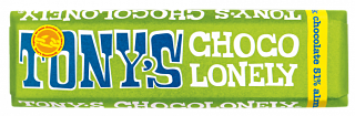 Tony's Chocolonely Almond & Sea Salt Chocolate Bar