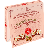 Servet Traditional Sultan Turkish Delight with Barberry and Hazelnut Cream