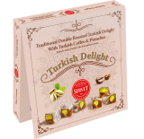 Servet Traditional Double Roasted Turkish Delight With Turkish Coffee and Pistachio