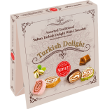 Servet Assorted Traditional Sultan Turkish Delight With Chocolate