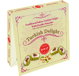 Servet Traditional Sultan Turkish Delight wth Double Pistacio