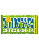 Tony's Chocolonely Almond and Sea Salt Dark Chocolate