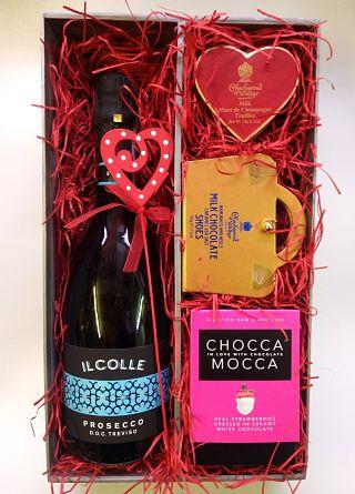 Wine, Shoes & Chocolate Gift Box
