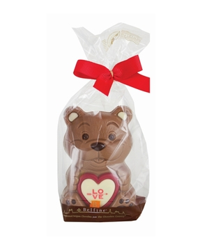 Belfine Chocolate Valentine Bear