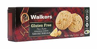 Walkers Gluten Free Ginger & Lemon Shortbread