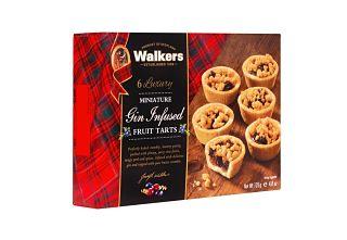 Walkers Gin Infused Fruit Tarts