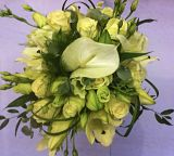 Ivory Hand-tied Bridal Bouquet