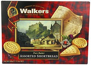 Walkers Assorted Shortbread Box 320g