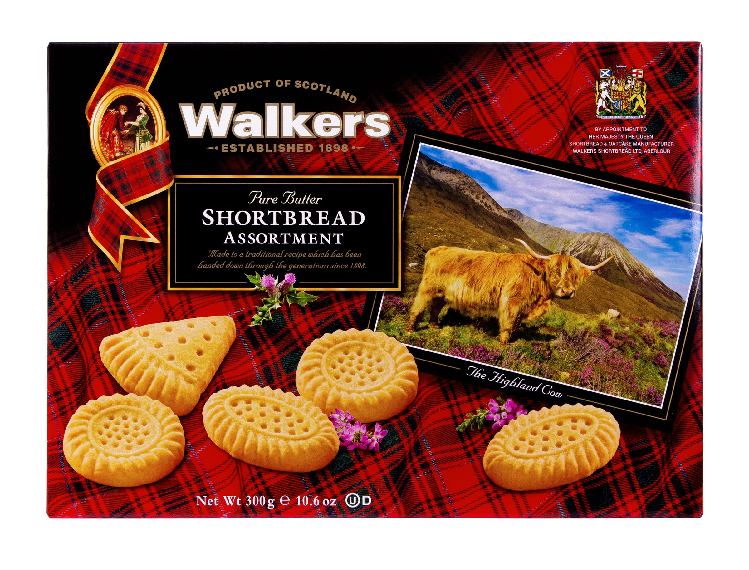 Walkers Assorted Shortbread Postcard Gift Box