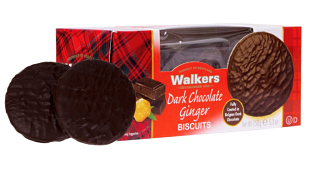 Walkers Dark Chocolate Ginger Biscuits