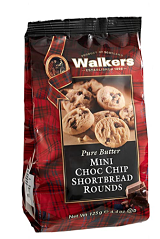 Walkers Mini Choc Chip Shortbread Rounds