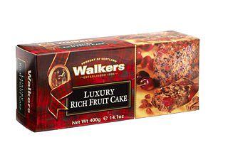 Walkers Luxury Rich Fruit Cake
