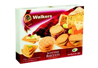 Walkers Scottish Biscuits for Cheese Selection Box