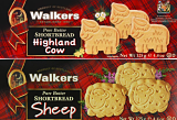 Walkers Pure Butter Shortbread Highland Cows & Sheep