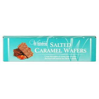 Whitakers Salted Caramel Wafers
