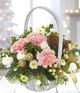 Winter's Tale Basket Arrangement